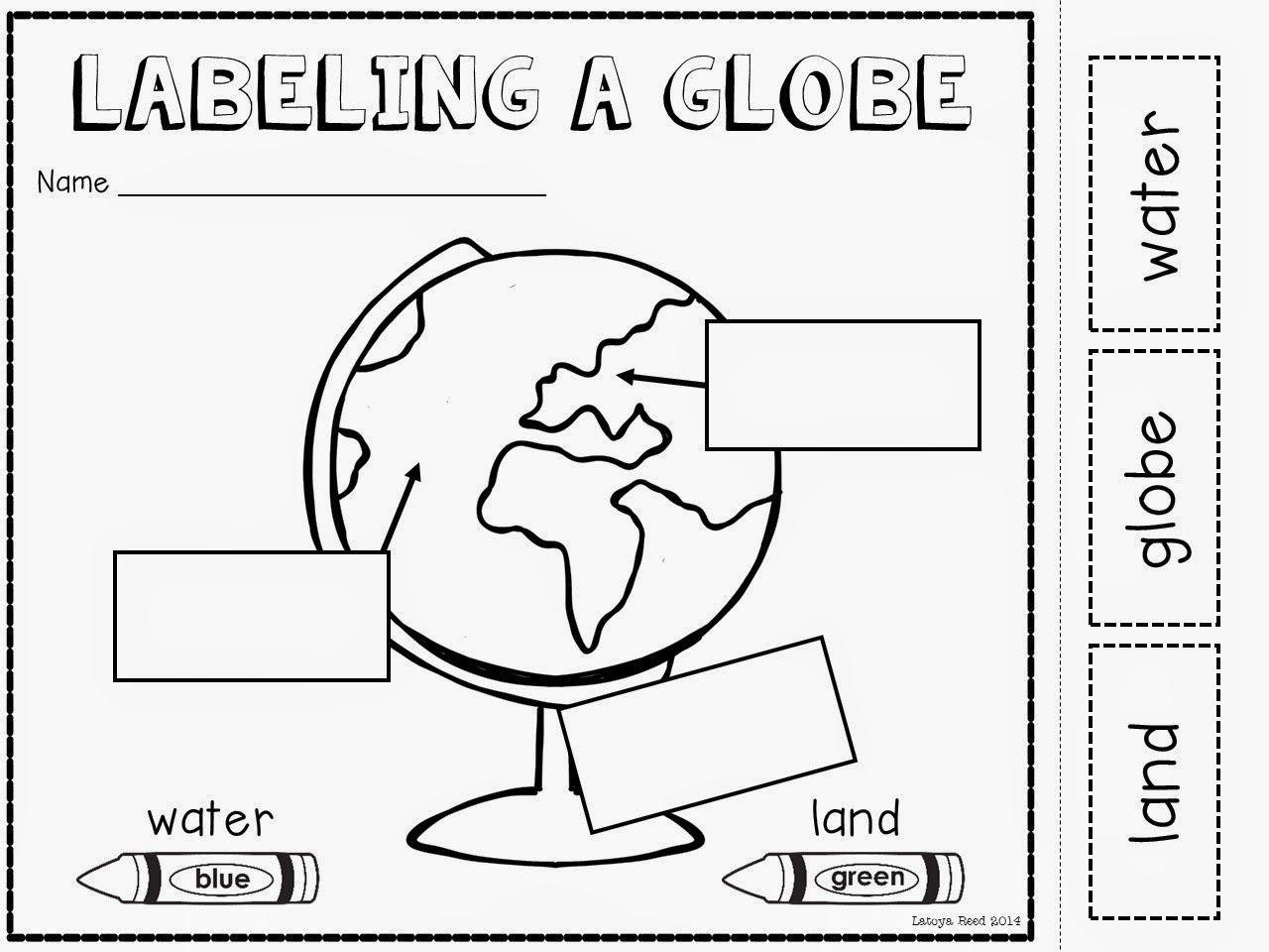 Preschool Geography Worksheets 1