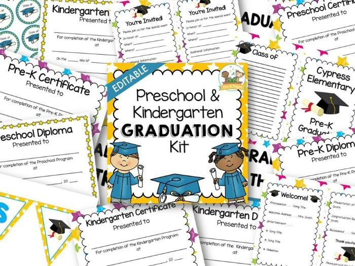 Preschool Graduation Worksheets 2