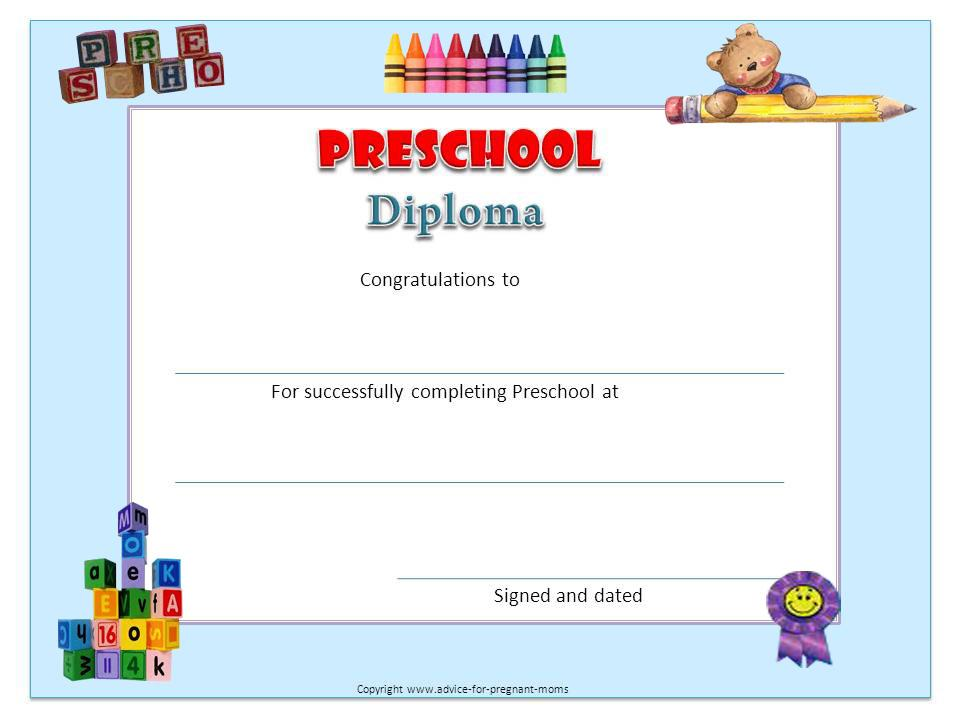 Preschool Graduation Worksheets 4
