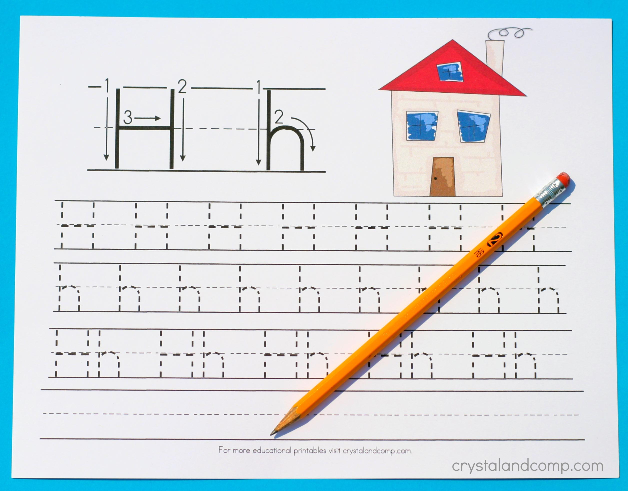 Preschool Handwriting Worksheets Free