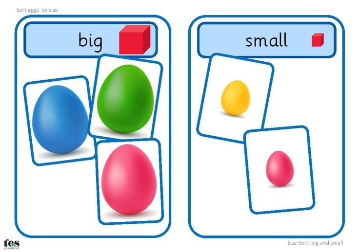 Preschool Worksheets Big And Small 2