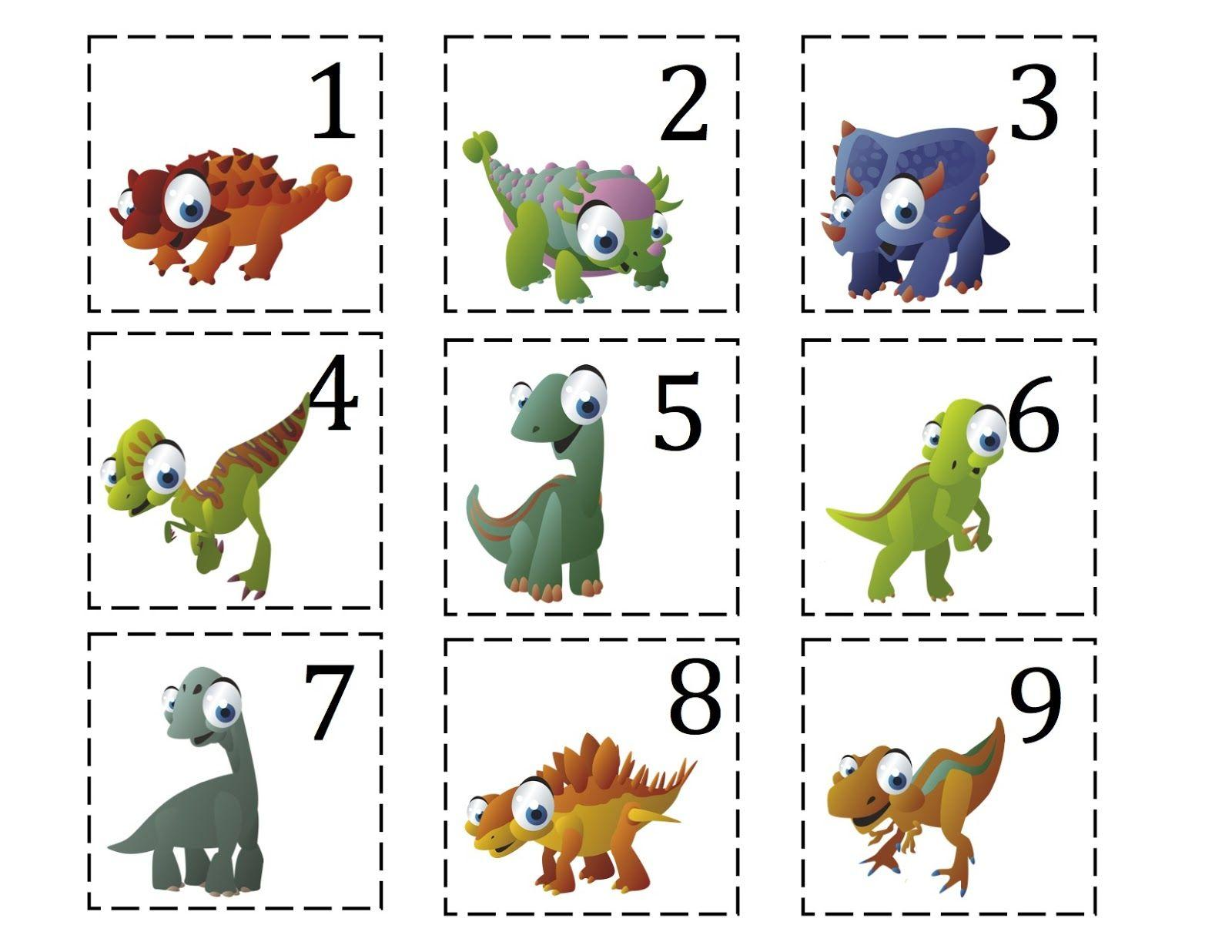 Preschool Worksheets Dinosaurs 2