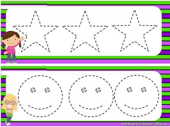 Preschool Worksheets Dotted Lines 11