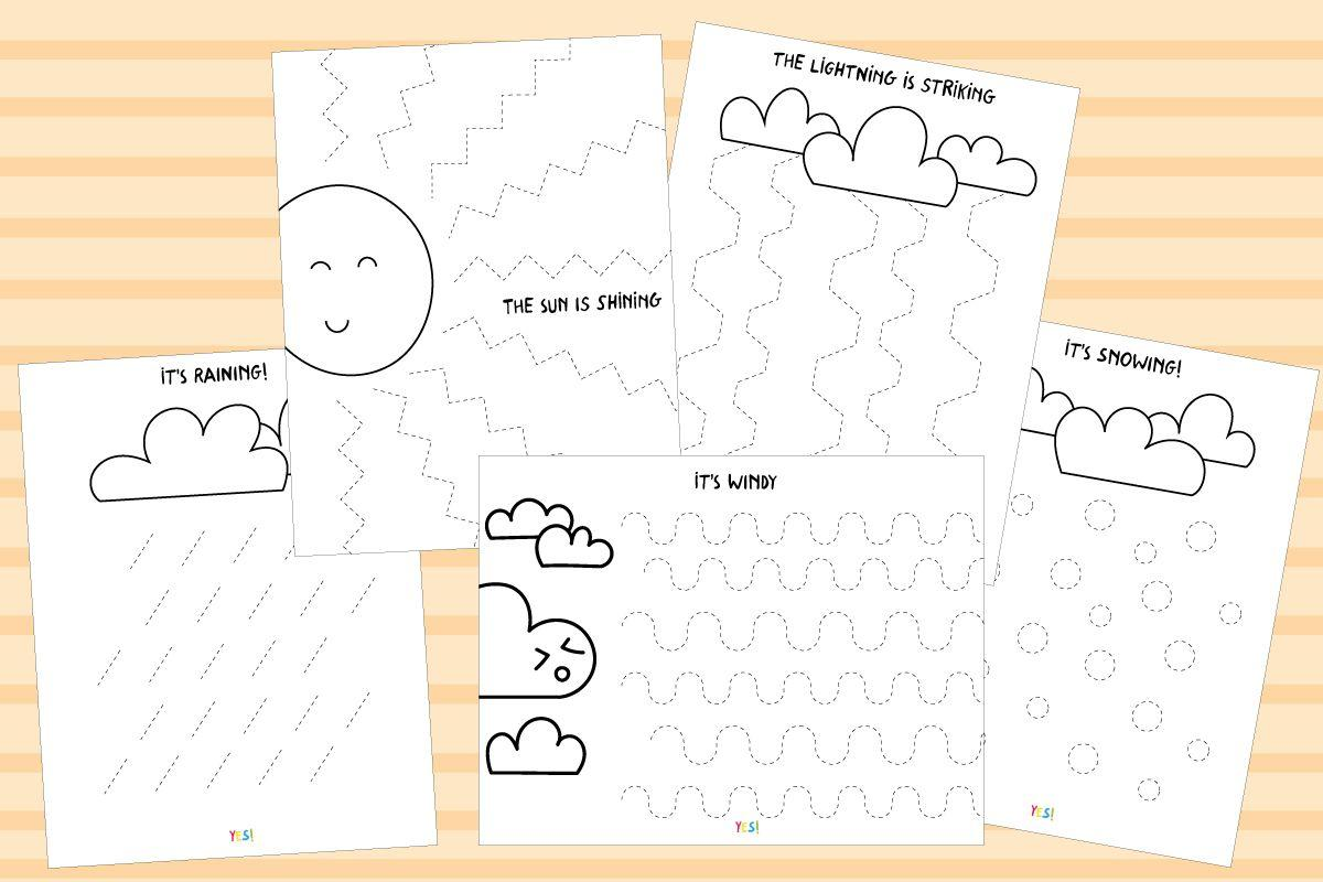 Preschool Worksheets Draw A Line 6