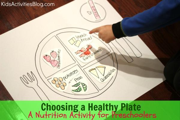 Preschool Worksheets Healthy Food 5
