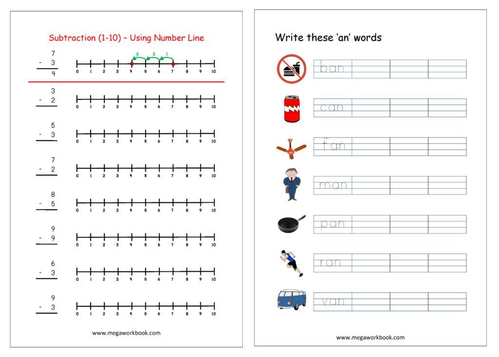 Preschool Worksheets India 3
