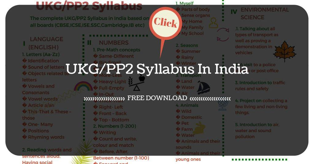 Preschool Worksheets India 5