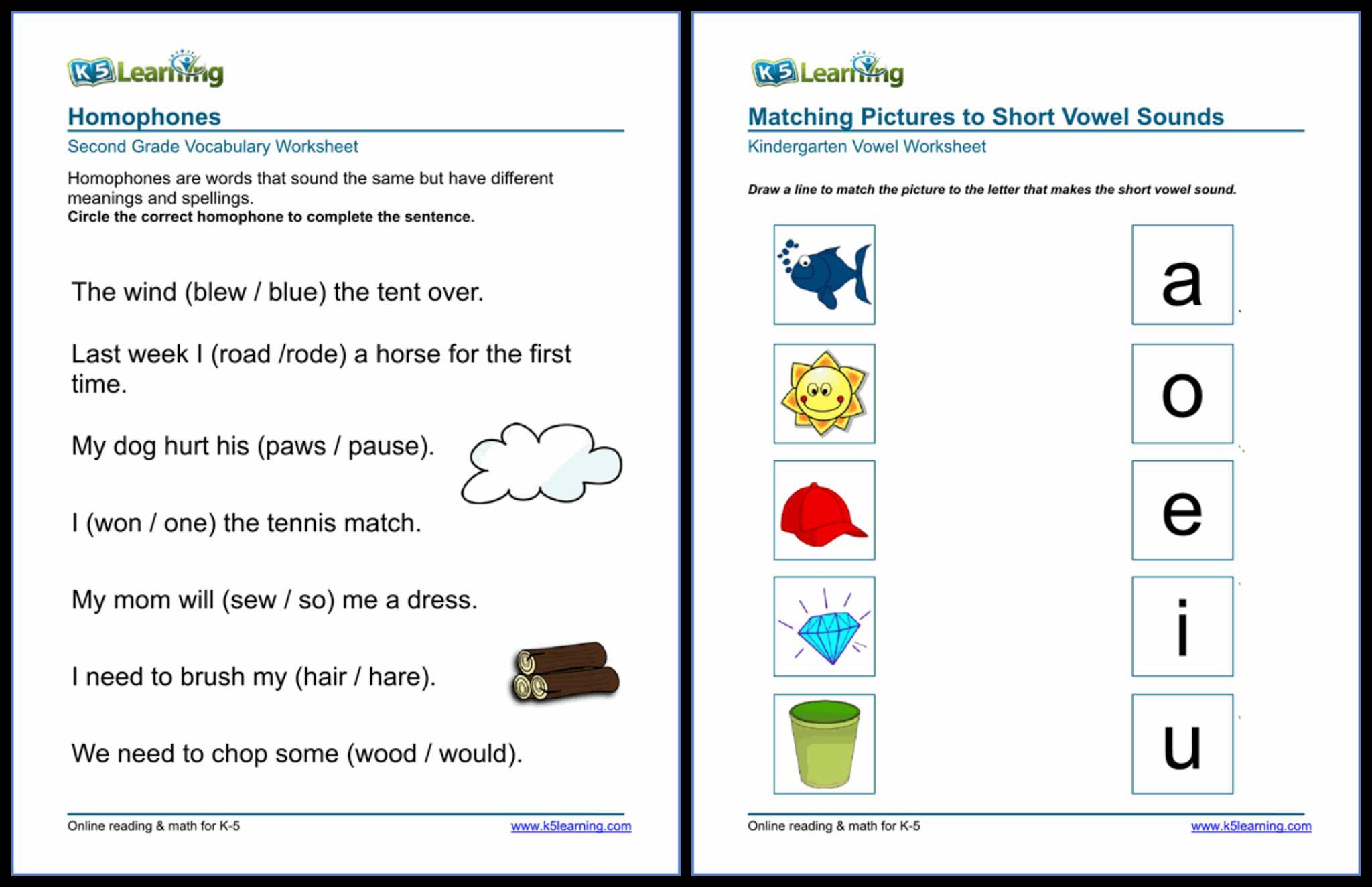 Preschool Worksheets K5 Learning 4