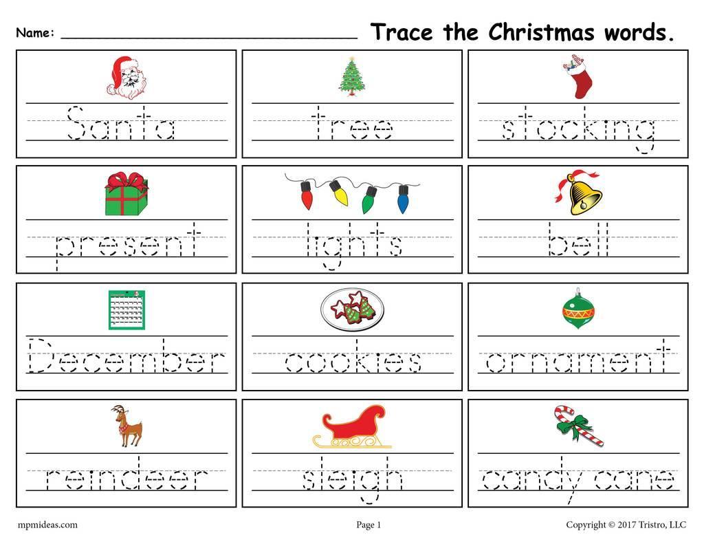 Free Printable Preschool Worksheets Sight Words