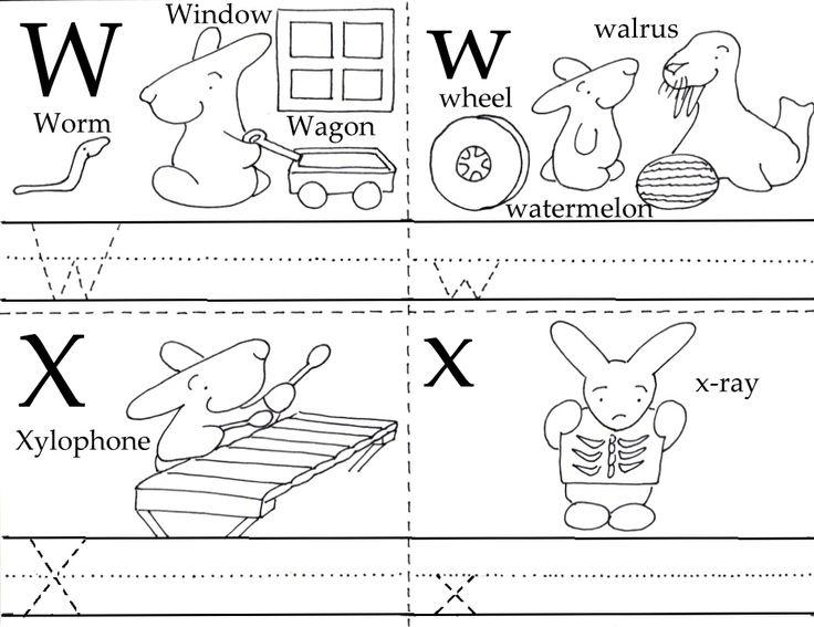 Preschool Tracing Sheets Letters