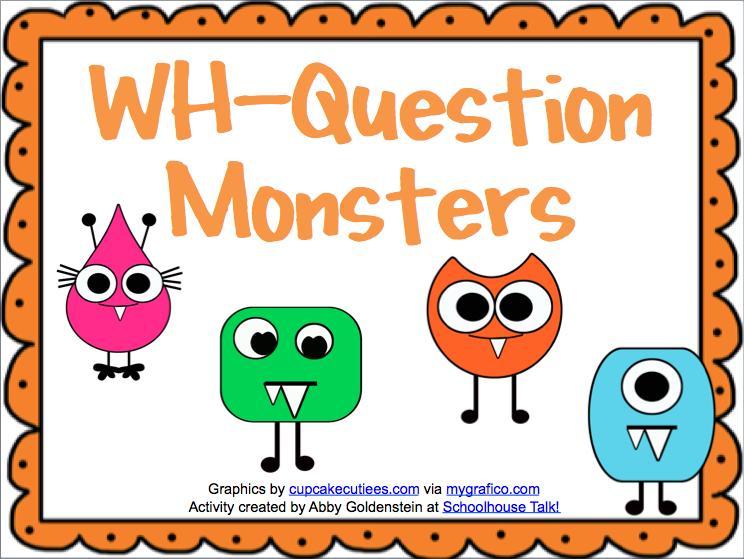 Preschool Wh Questions Worksheets 4