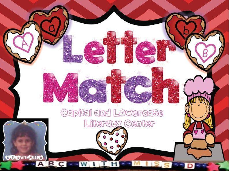 Preschool Worksheets Matching Upper Lowercase Letters 6