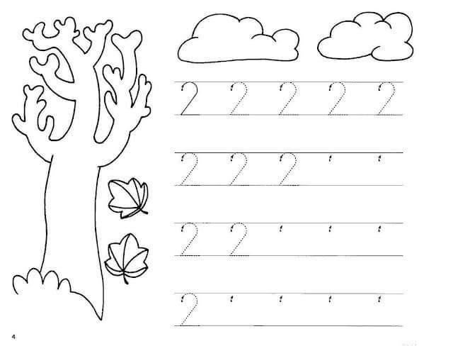 Preschool Worksheets Numbers 1-20
