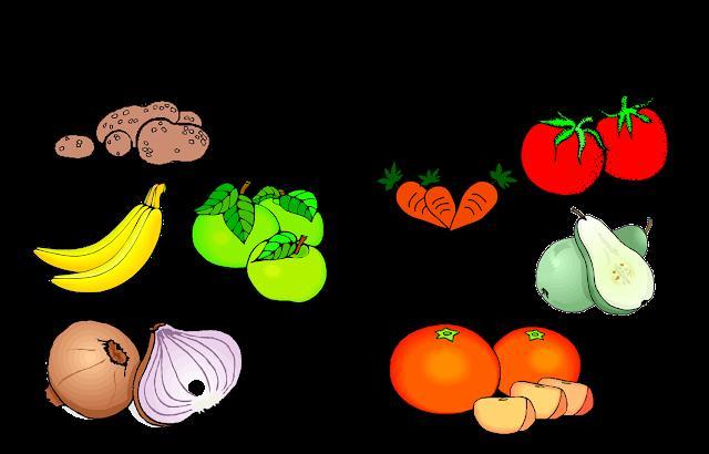 Preschool Worksheets On Fruits And Vegetables 3