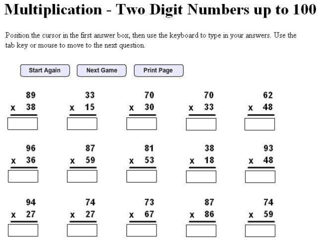 Math Worksheets By Grade Level 15