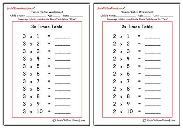 Math Worksheets Class 2 6