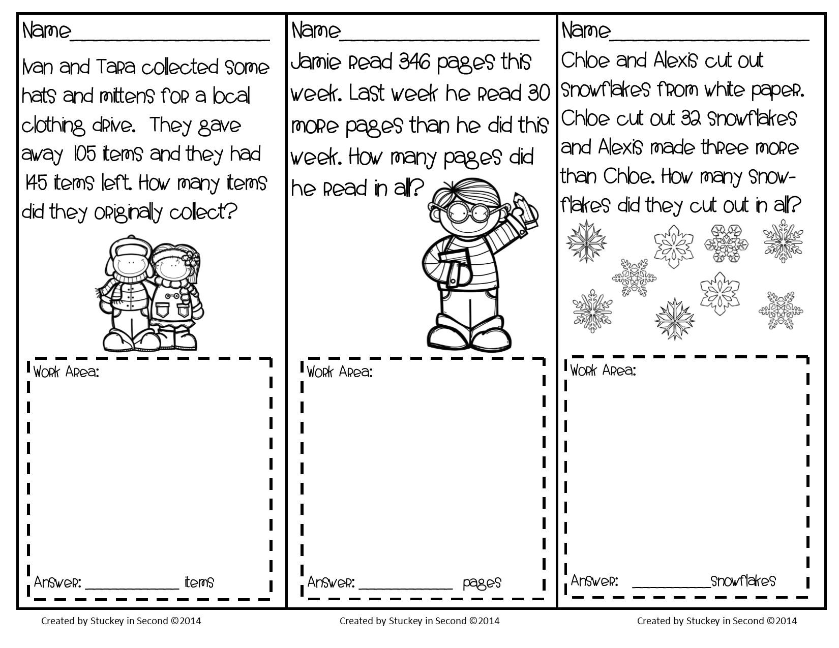 Math Worksheets Grade 2 8