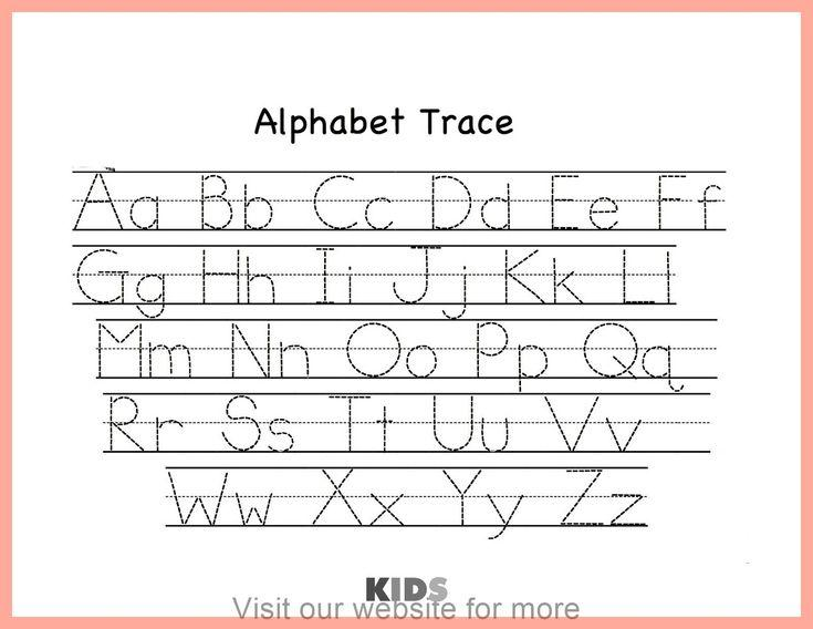Preschool Alphabet X Worksheet 3