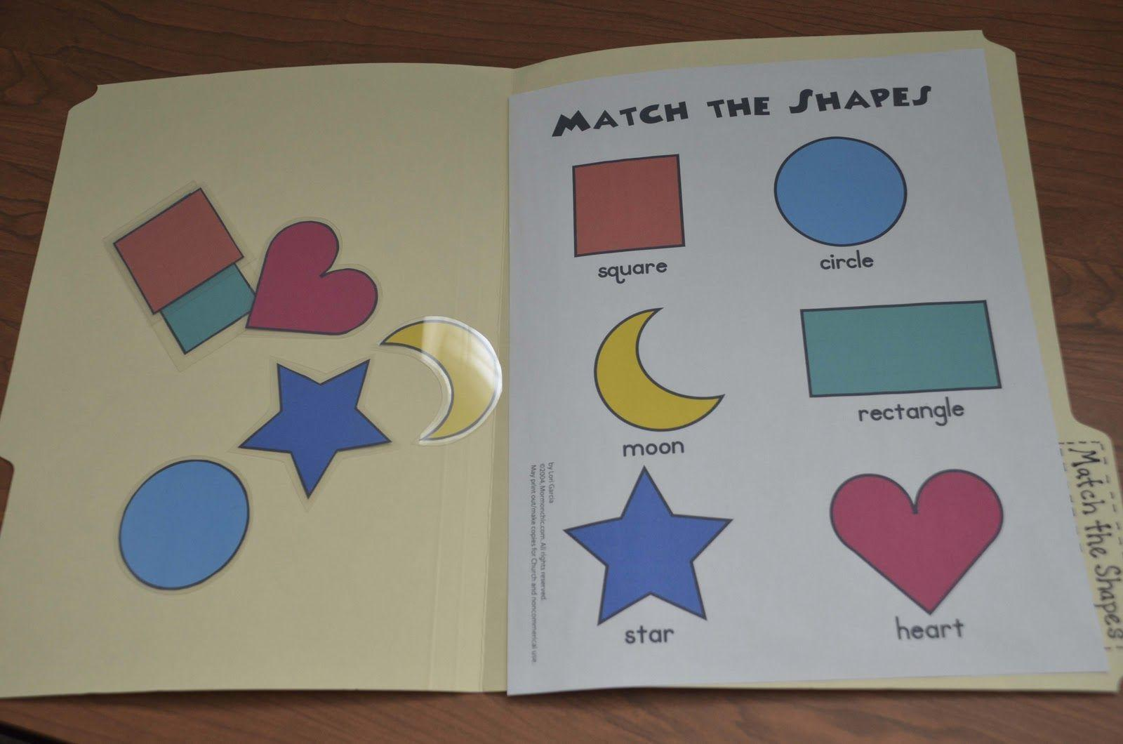 Preschool Printables For 2 Year Olds