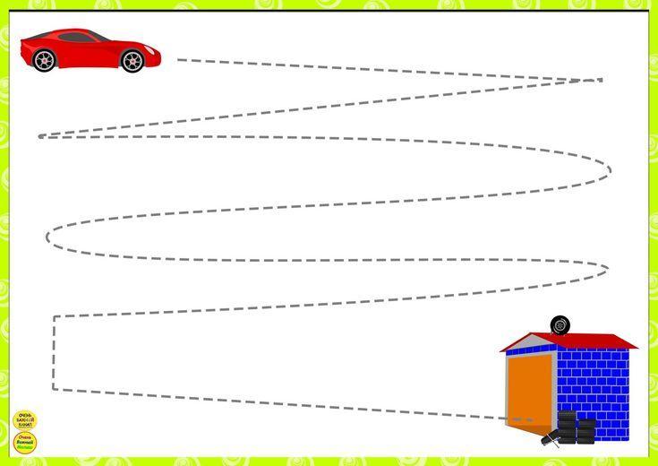 Preschool Worksheets Vk 1