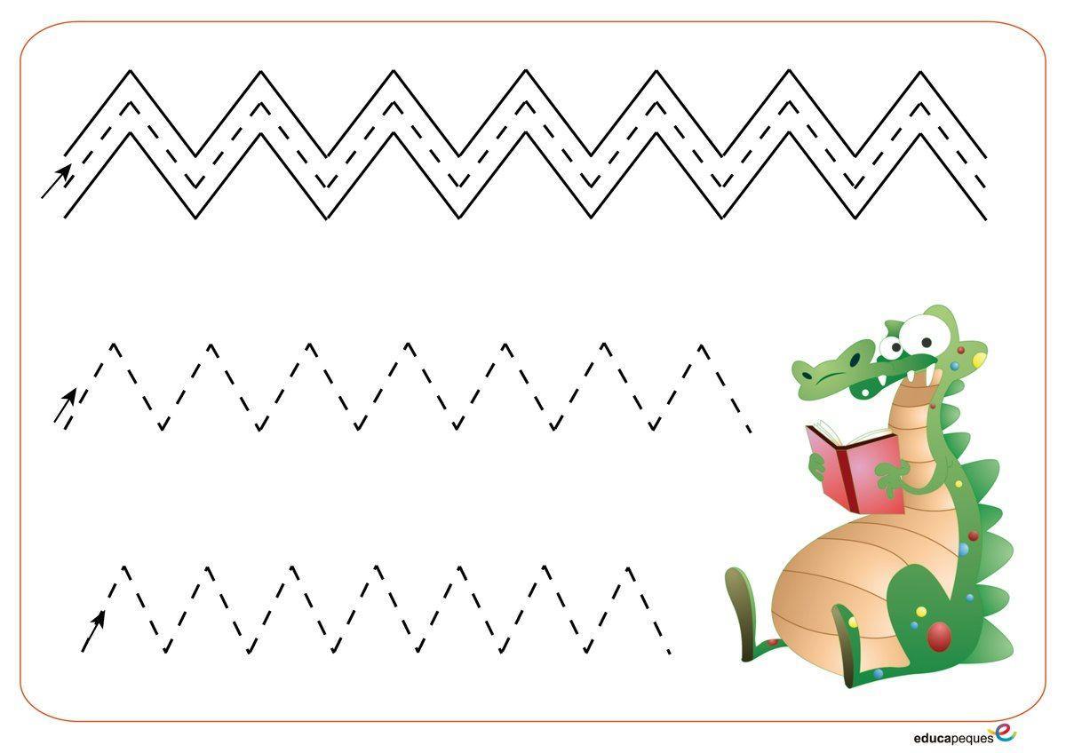 Preschool Worksheets Vk 4