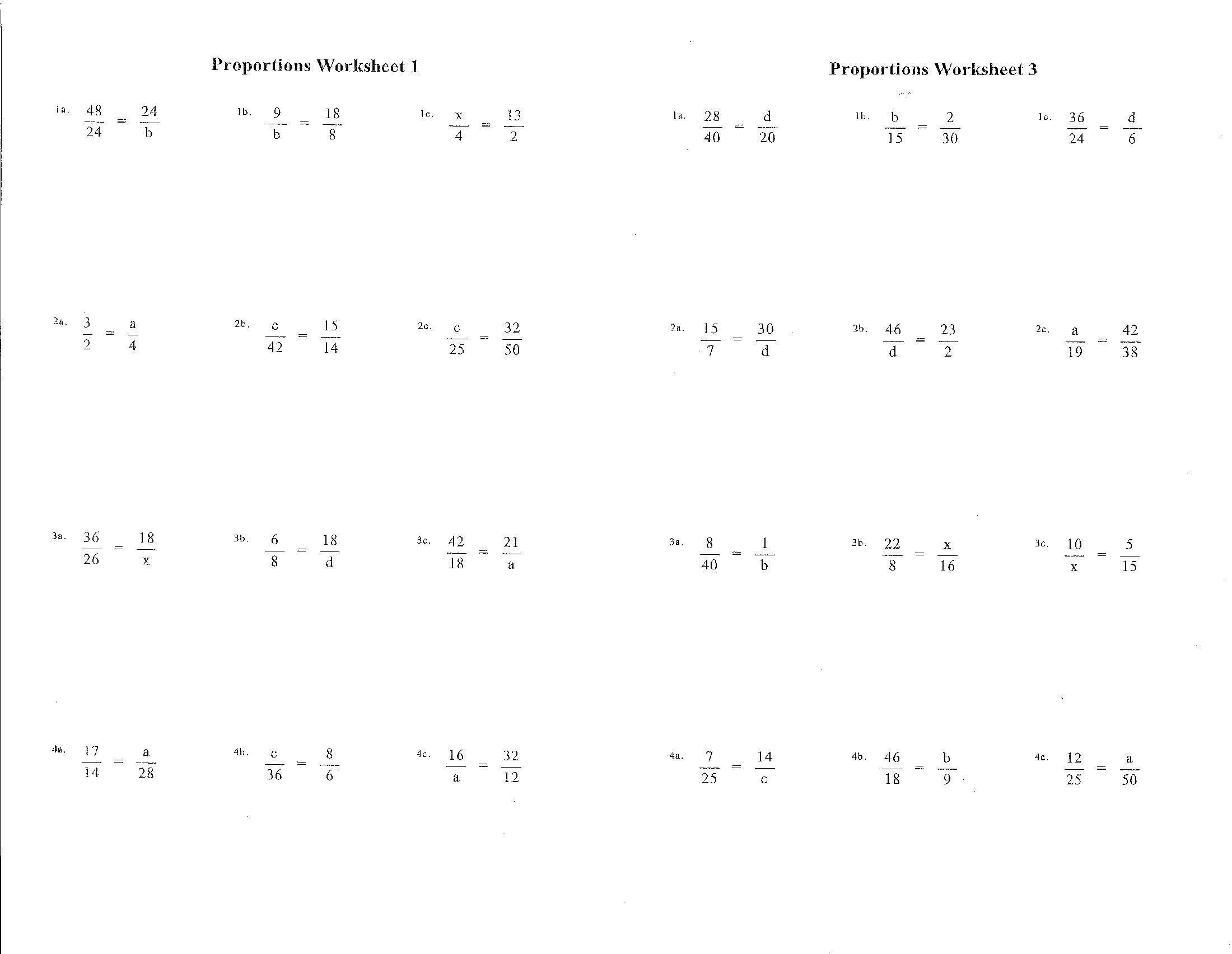 Free Math Worksheets Kuta