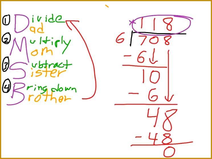 Free Math Worksheets Long Division