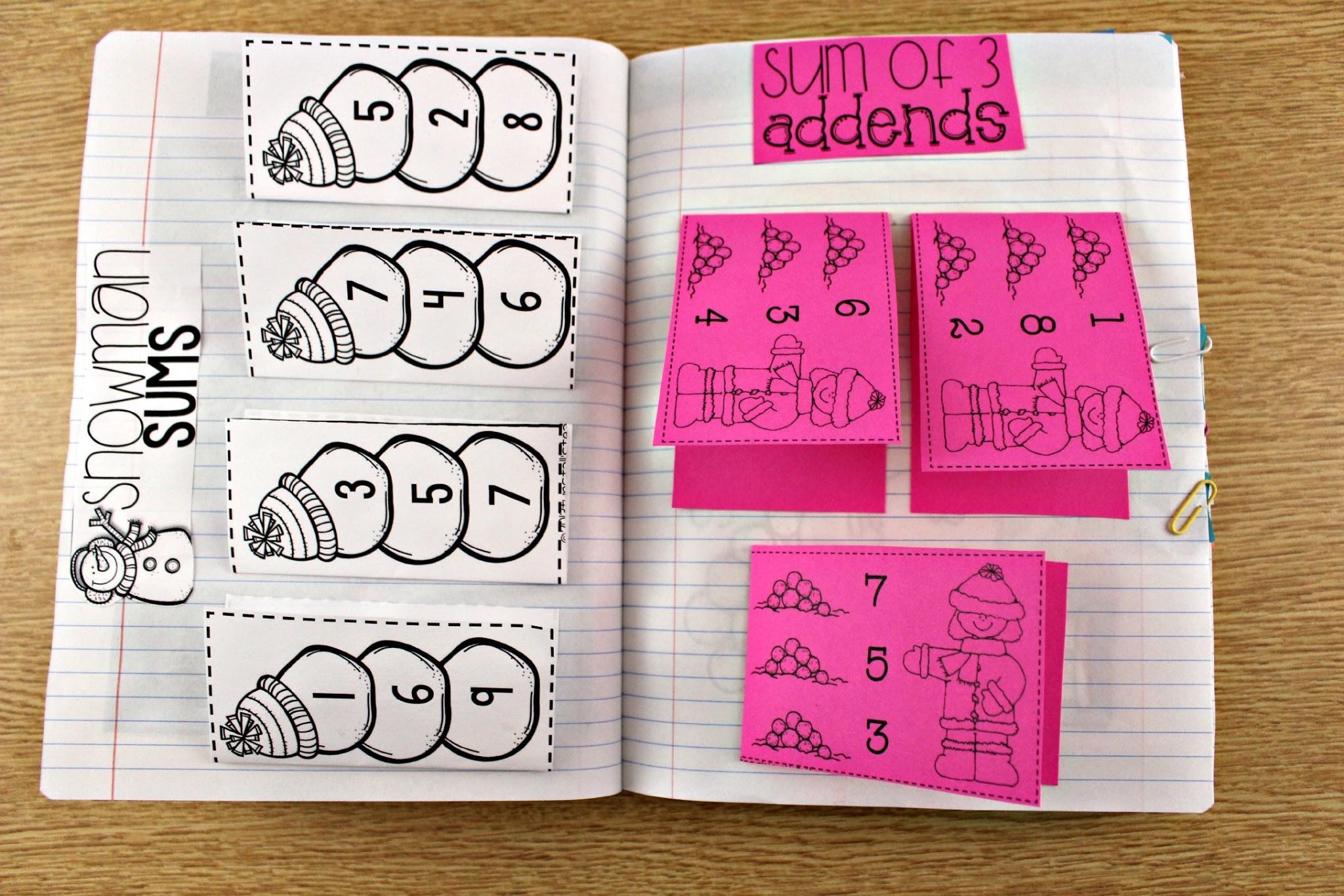 Math Journal Worksheets 4