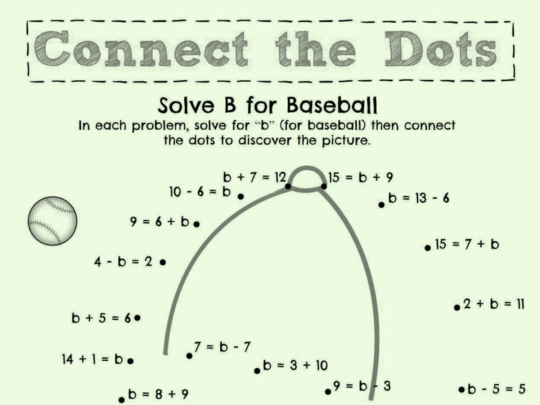 Math Worksheets Equations 5