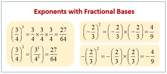 Math Worksheets Exponents 5