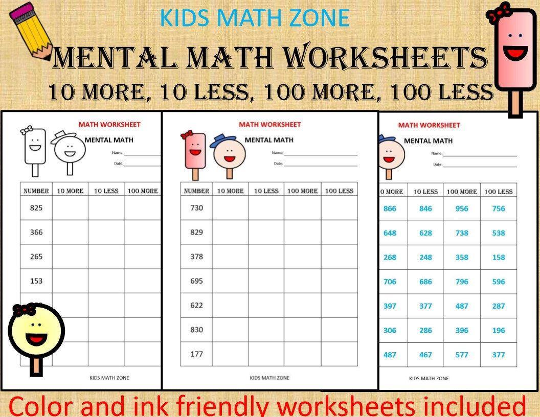 Math Worksheets For Jr Kg Students 5