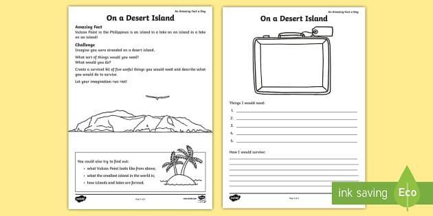 Math Worksheets Island 4