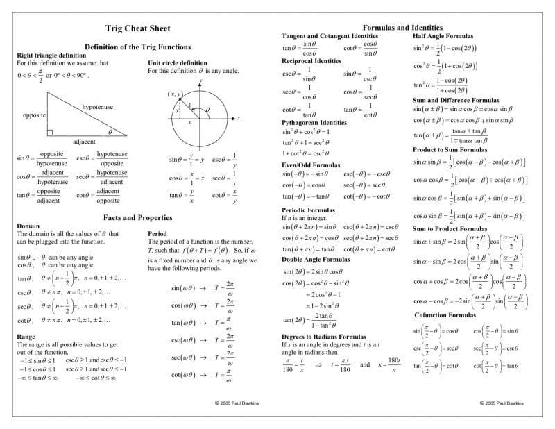 Math Worksheets Junior High 1