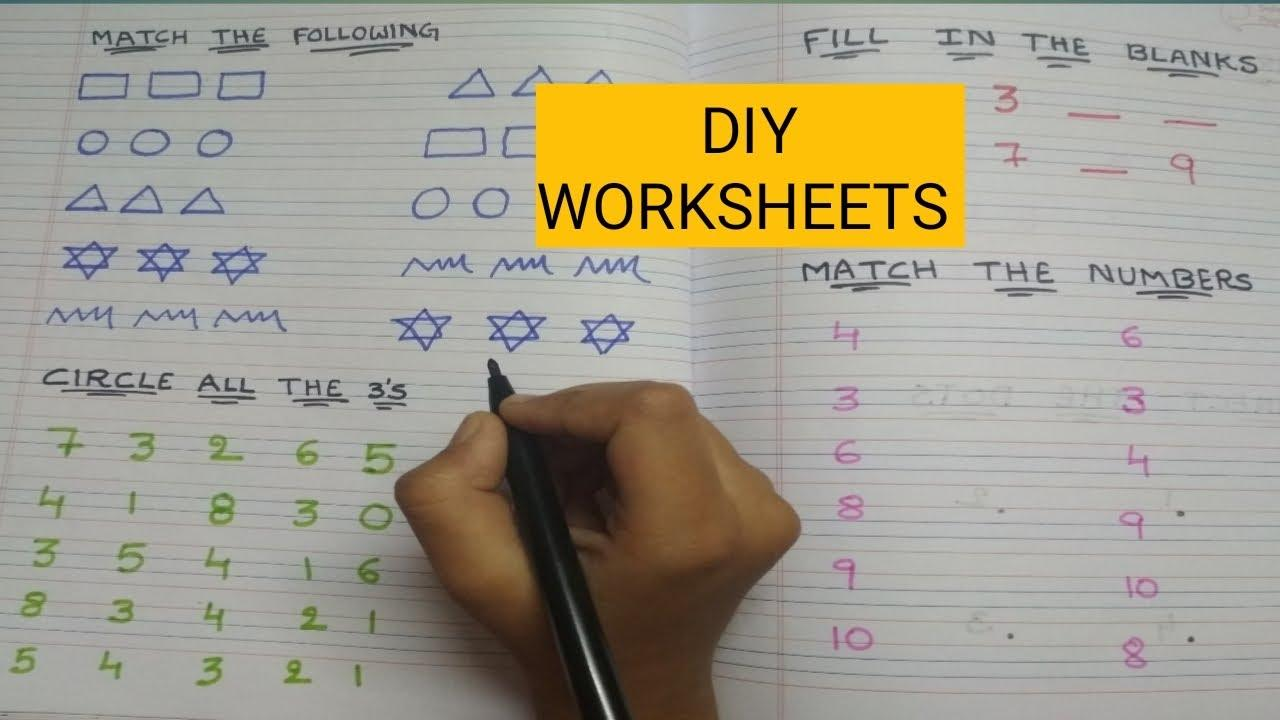 Math Worksheets Lkg Class 4