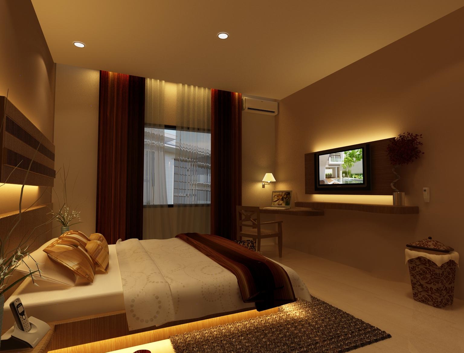 Contoh Desain Kamar Hotel Plaza Surabaya II  INTERIOR