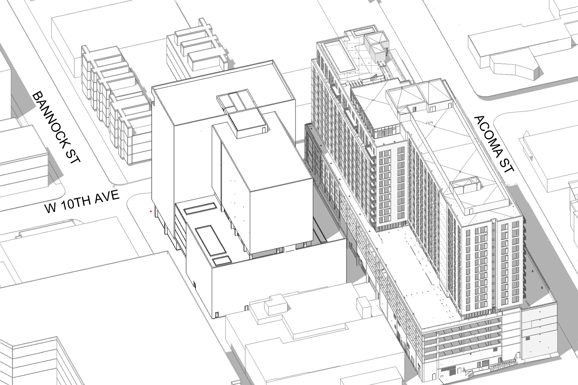 Plans For 990 Bannock Submitted To City Denverinfill Blog