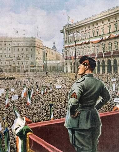 gobierno fascista