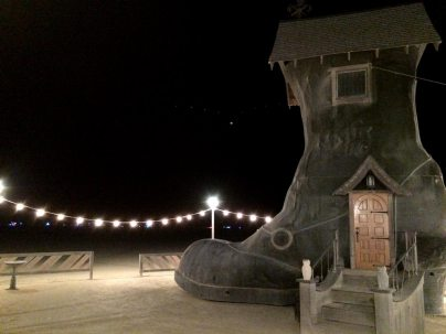 Storied Haven at Black Rock City, 2015.