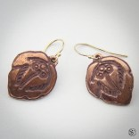 Copper Earrings: Available soon at Steadcraft.com