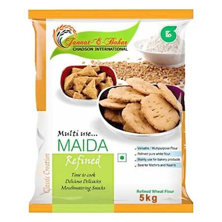 Maida vs All-Purpose Flour - Difference