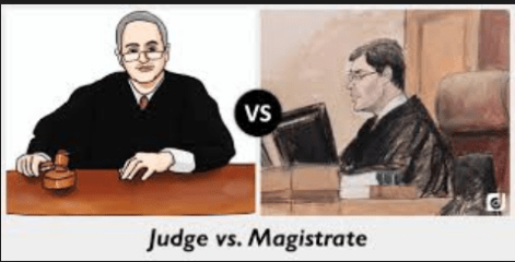 Difference between Magistrates and Judges