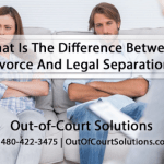 Difference between Separation and Divorce