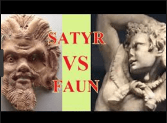 Difference between Fauno and Satyr