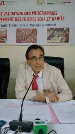Joachim Becker, Représentant de GIZ
