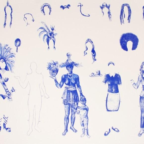 Decolonisation art by Tiago Gualbert
