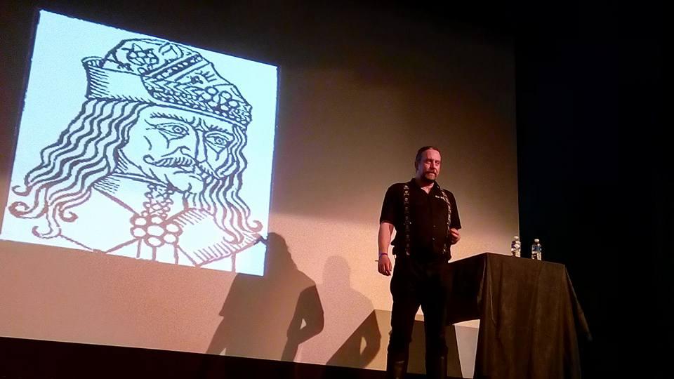 Gavin Baddeley speaker