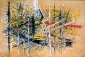 Wifredo Lam's painting Cuban artist