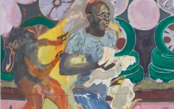 Painting my Michael Armitage, African artis