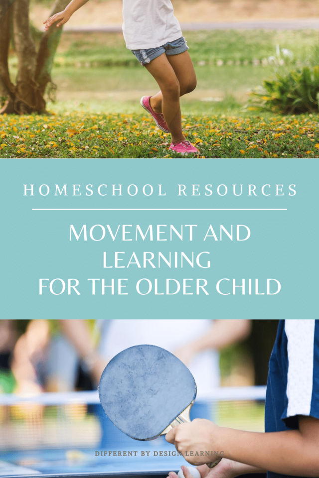 Movement and Learning For The Older Child