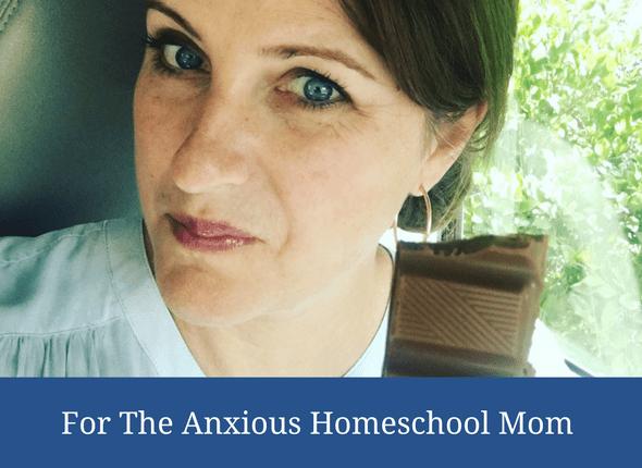 anxious homeschool mom